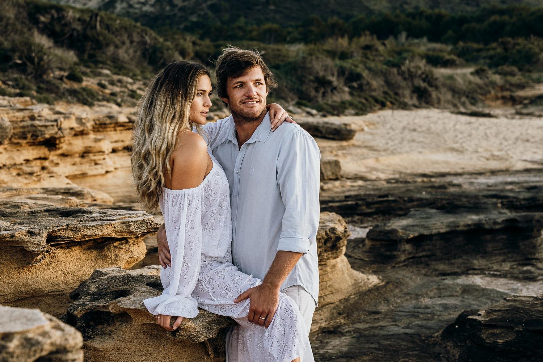 Mallorca boho couple