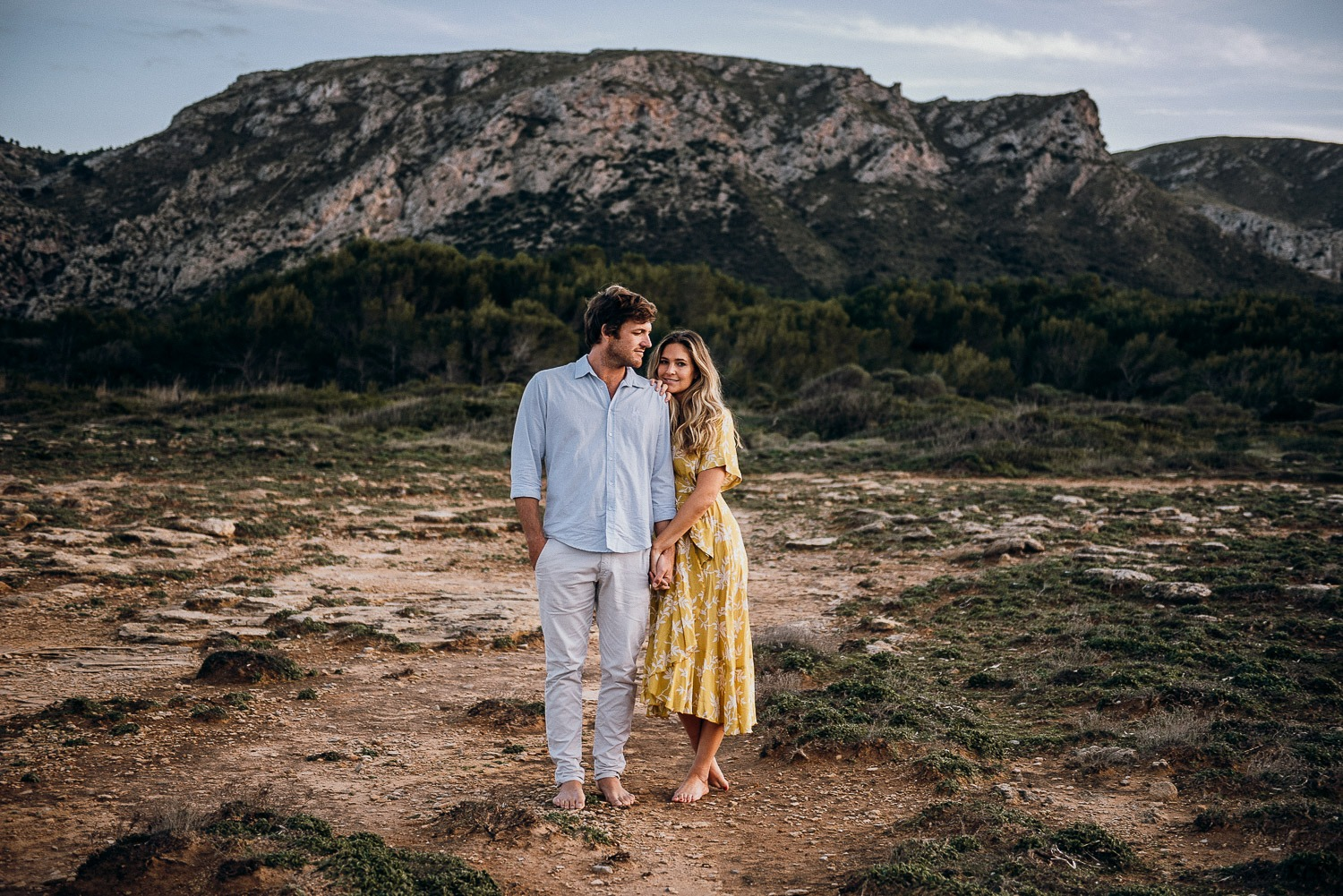 Mallorca boho couple