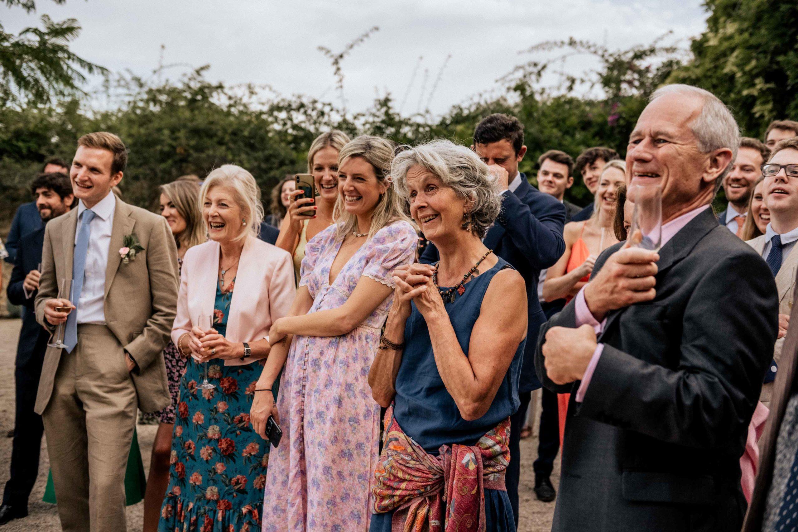 Mallorca garden wedding