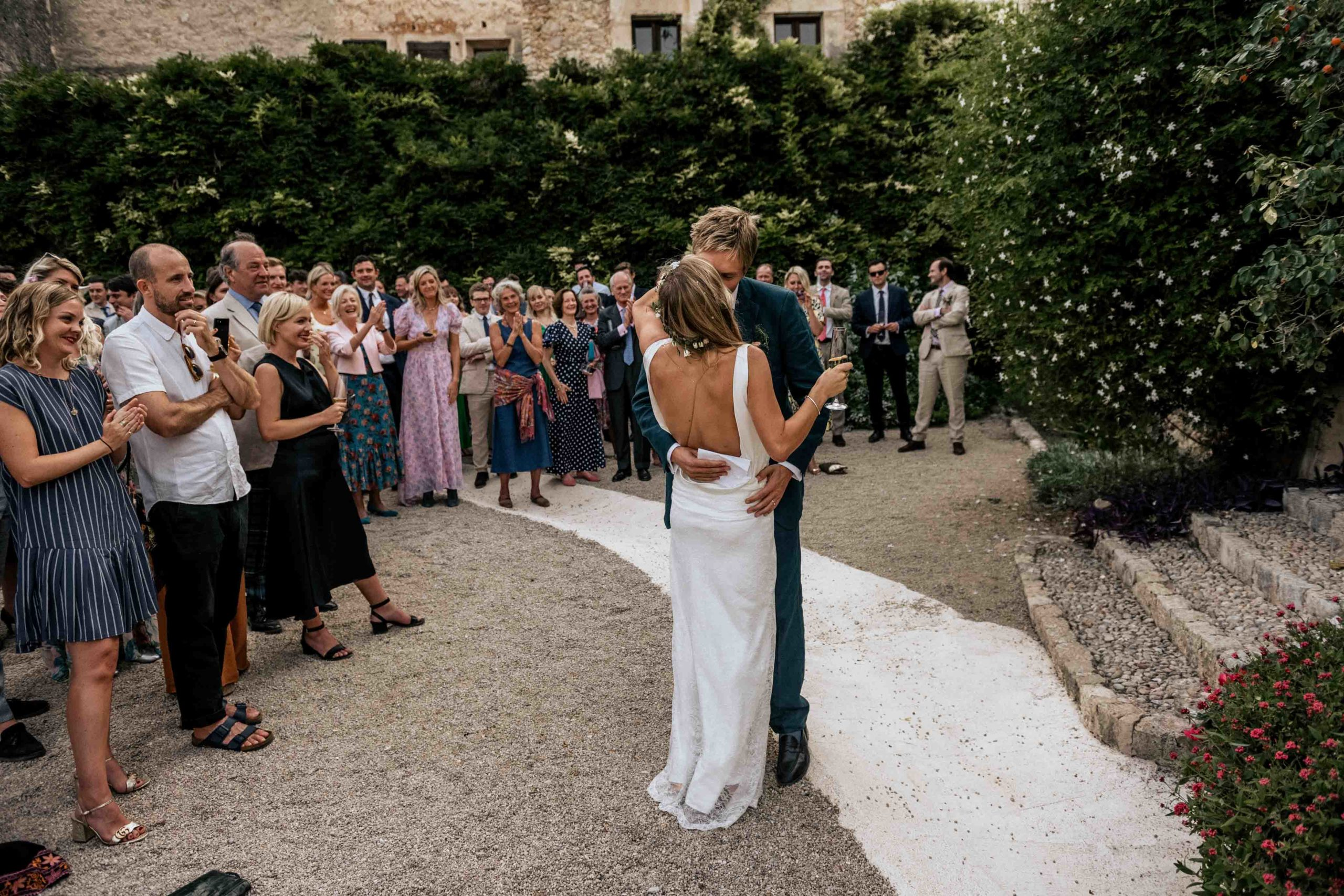 Mallorca garden wedding
