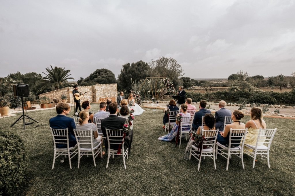 Intimate finca wedding Mallorca
