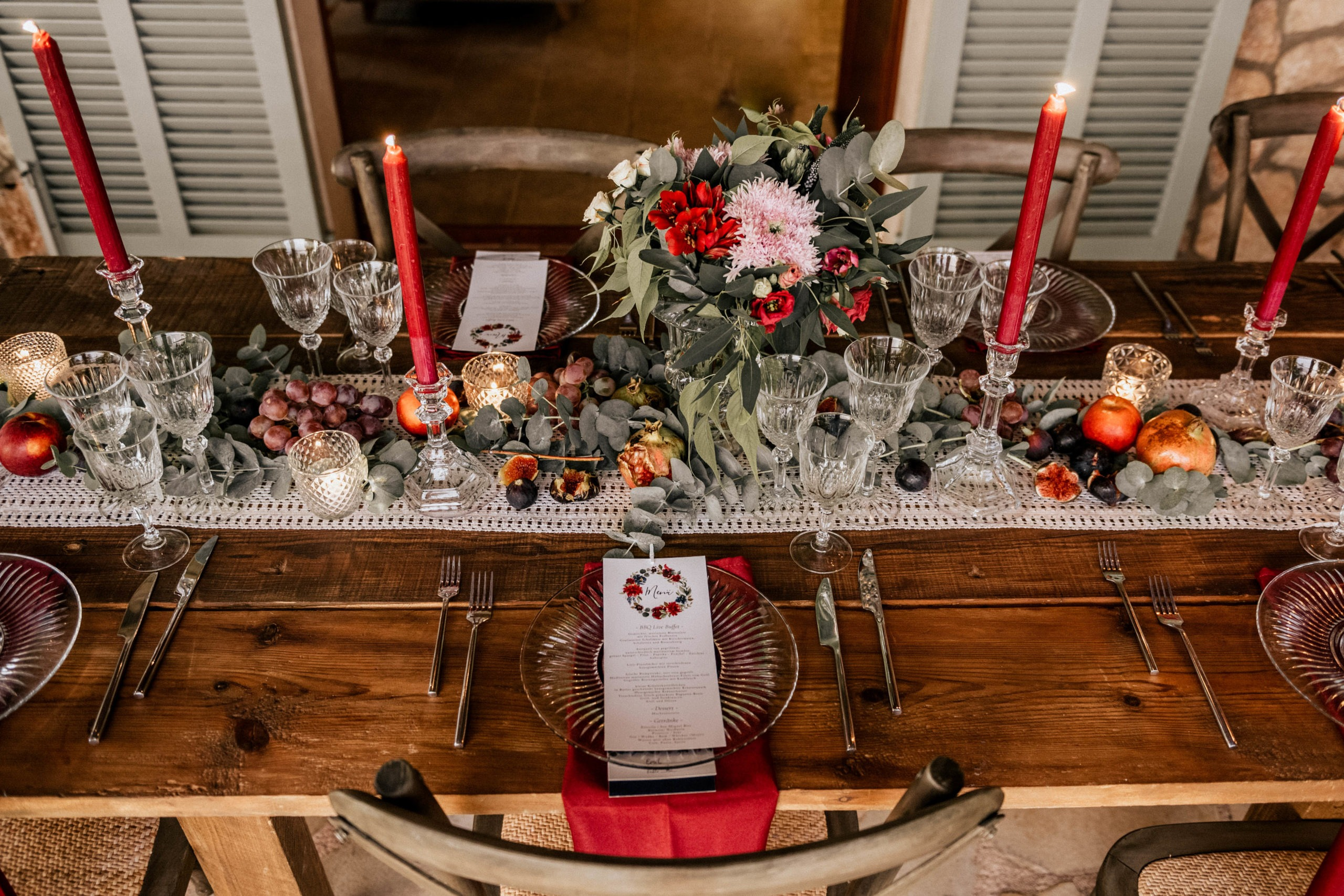 Wedding Planner: Agentur Traumhochzeit Decor : Benni John. H&M: Venera Wirth Catering: Matthias Gerlach Catering