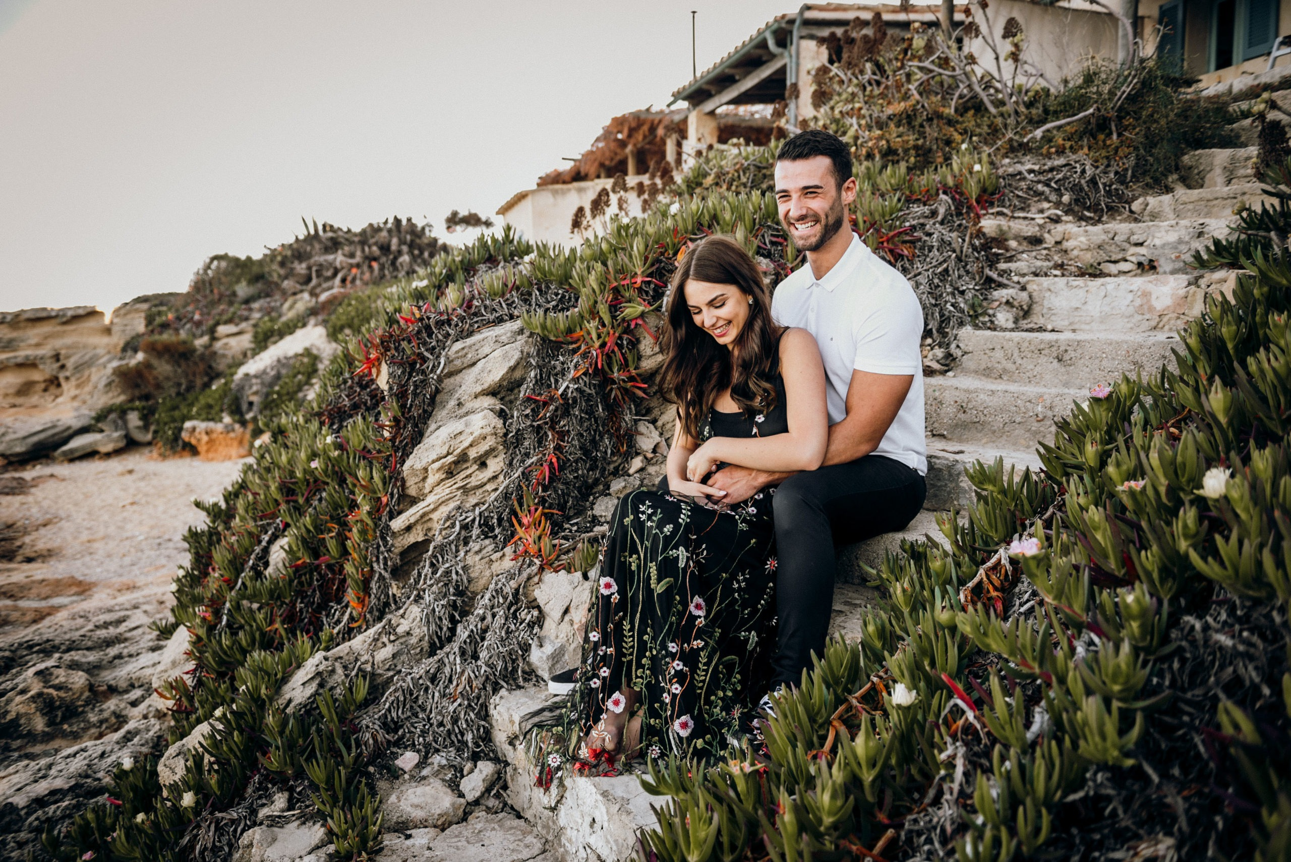 Mallorca engagement session