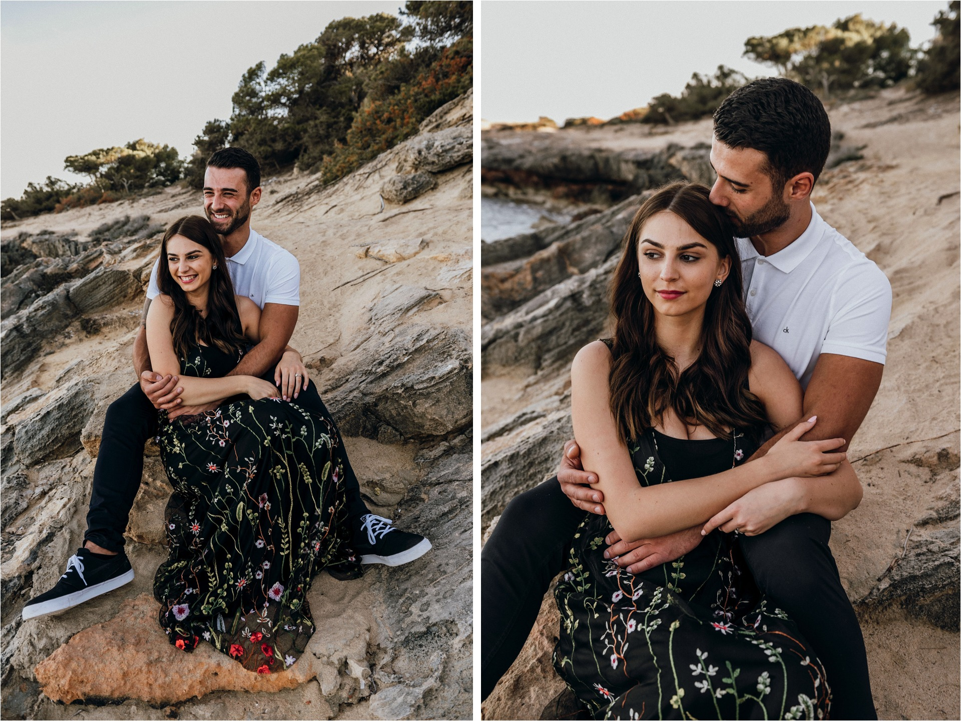 Mallorca sunset engagement session 2