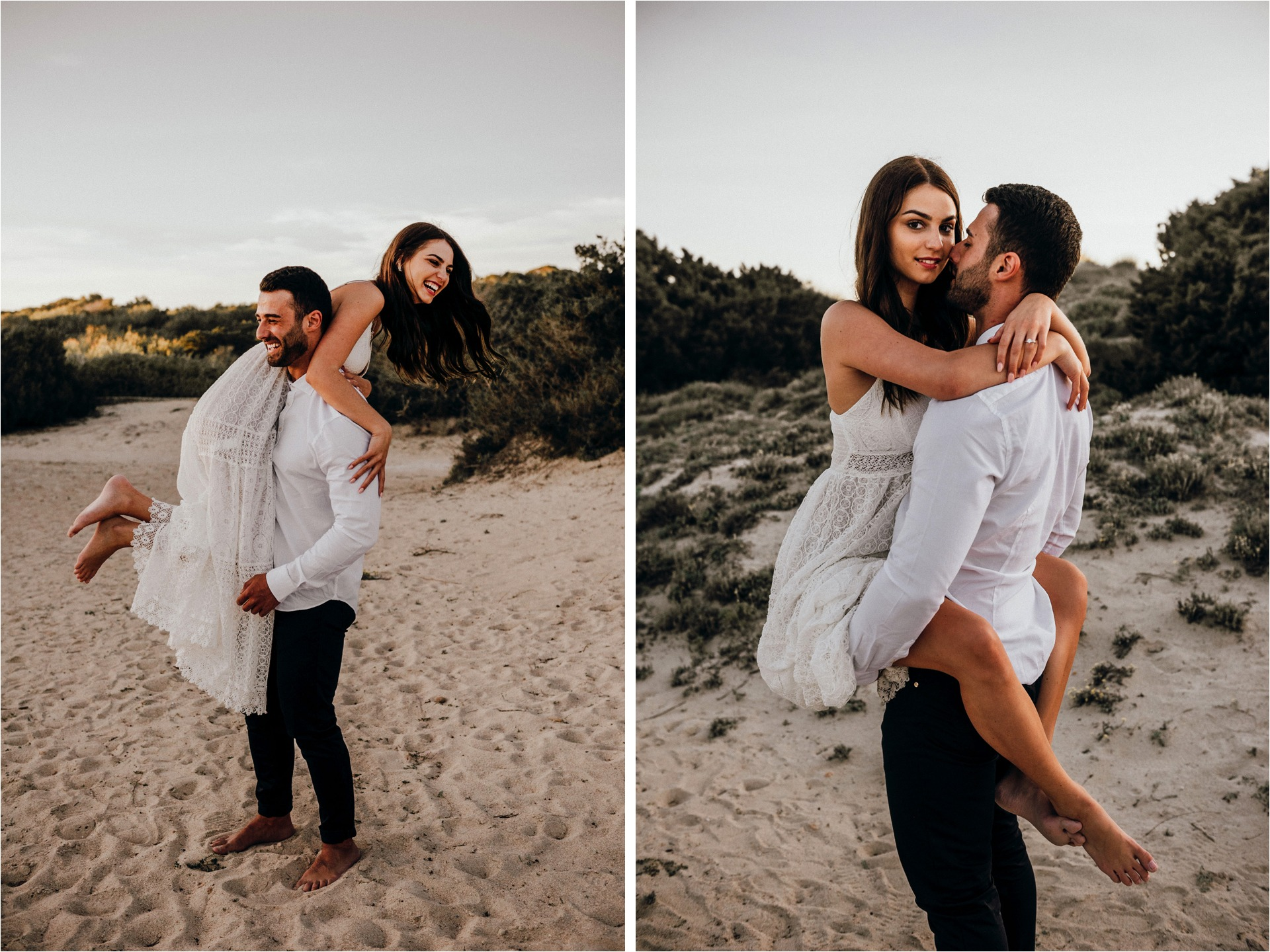Mallorca sunset engagement session 3