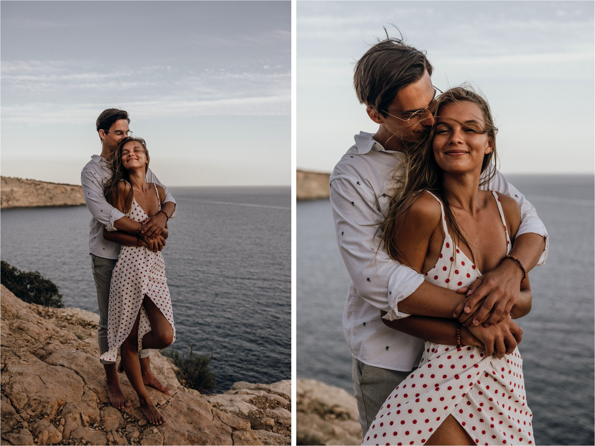 Mallorca cliffside love story 1