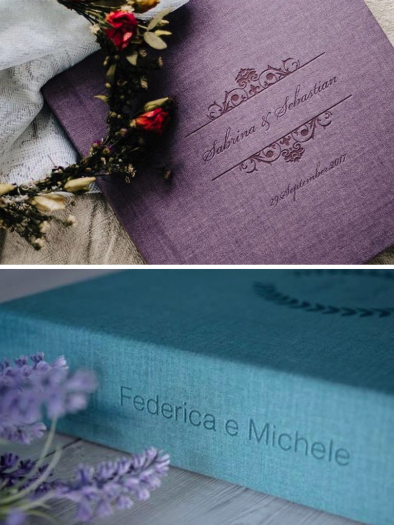 Printed pictures and wedding albums