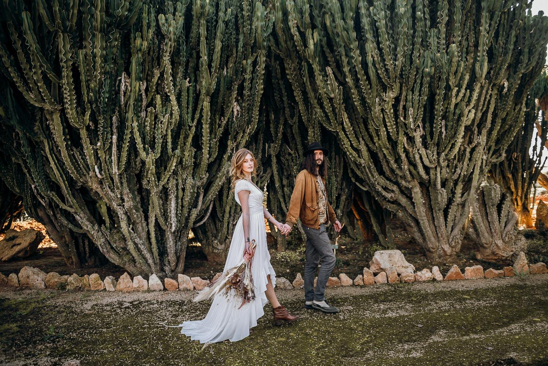 Elopement inspired shoot in Mallorca